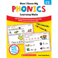 Scholastic Now I Know My Phonics