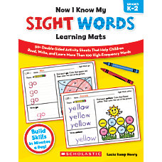 Scholastic Now I Know My Sight