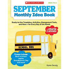 Scholastic Monthly Idea Book September