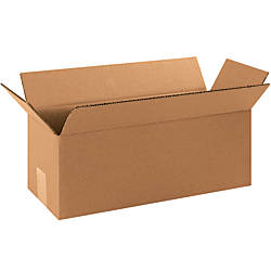 Office Depot Brand Long Corrugated Boxes