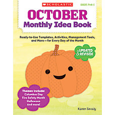 Scholastic Monthly Idea Book October