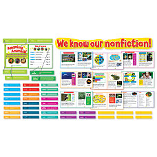 Scholastic Exploring Nonfiction Bulletin Board Set