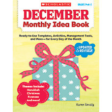 Scholastic Monthly Idea Book December
