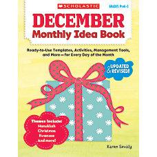 Scholastic Monthly Idea Book December