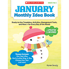 Scholastic Monthly Idea Book January