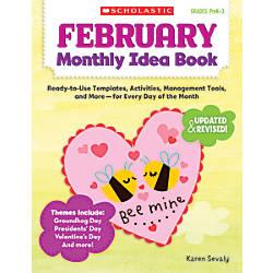 Scholastic Monthly Idea Book February