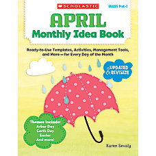 Scholastic Monthly Idea Book April