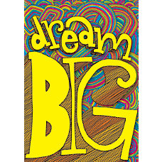 Scholastic POP Chart Dream Big 25