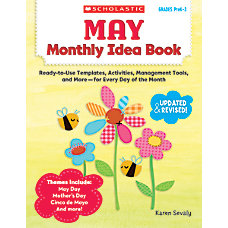 Scholastic Monthly Idea Book May