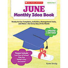 Scholastic Monthly Idea Book June