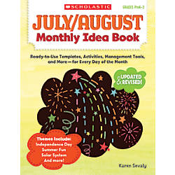 Scholastic Monthly Idea Book July August