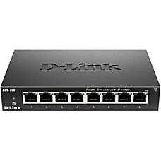 D Link 8 port Fast Ethernet