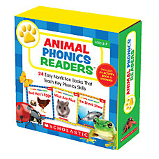Scholastic Animal Phonics Readers Parent Pack