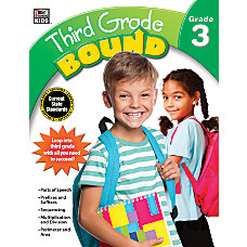Thinking Kids Bound Workbook Third Grade