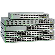 Allied Telesis AT FS970M16F8 LC Ethernet