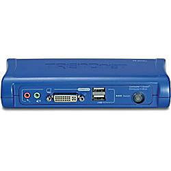 TRENDnet 2 port DVI USB KVM
