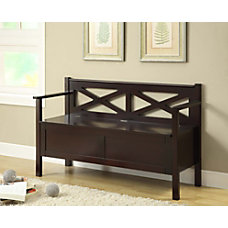 Monarch Specialties Solid Wood 50 Bench