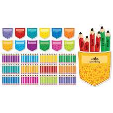 Scholastic Handy Pockets Mini 132 Piece