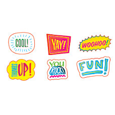 Scholastic Stickers Comic Strip Words Pack