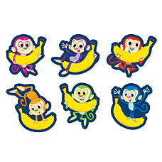 Scholastic Stickers Monkey Business Pack Of
