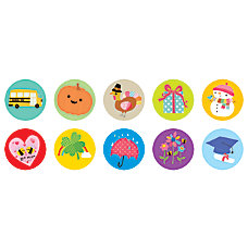 Scholastic Stickers Seasonal Fun Pack Of
