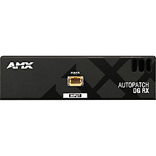AMX AVB RX FIBER HD15 Video