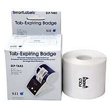 Seiko 3 Inch Tab Expiring Labels