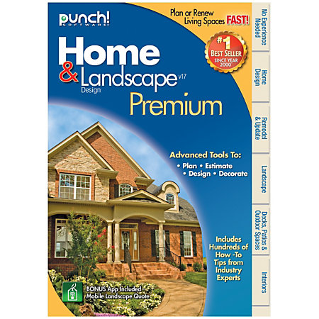 punch home landscape design premium 17 traditional disc by