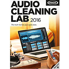 MAGIX Audio Cleaning Lab 2016 Download