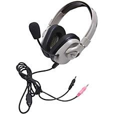 Califone Washable Headphone Dual 35mm Volume