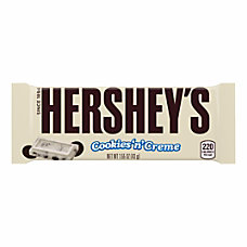 Hersheys Cookies Creme Candy Bar 155