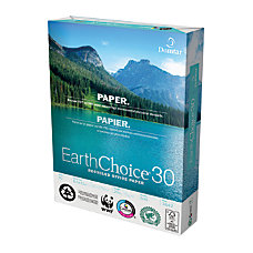 Domtar EarthChoice30 Recycled Office Paper Letter