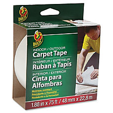 Duck IndoorOutdoor Double Sided Carpet Tape