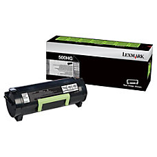 Lexmark 50F0H0G High Yield Black Toner