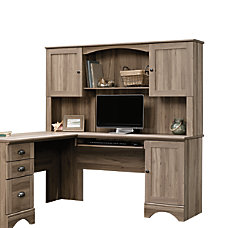 Sauder Harbor View Desk Hutch 36
