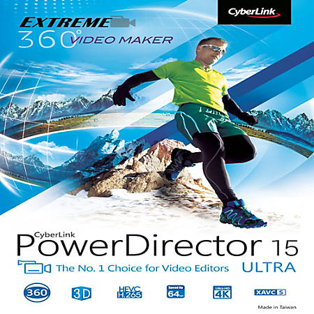 how to install cyberlink powerdirector 15 download