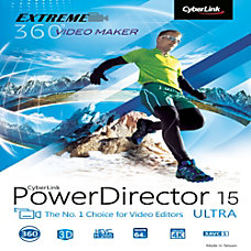 PowerDirector 15 Ultra Download Version