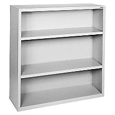 Lorell Fortress Series Bookcase 3 Shelves