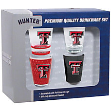 Hunter NCAA Shot Glass Collector Set