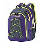 Reebok Backpack For Laptop Keanan PurpleYellow
