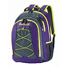 Reebok Backpack For Laptop Keanan PurpleYellow