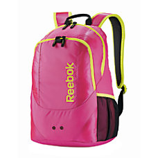 Reebok Backpack For Laptop Kell PinkYellow