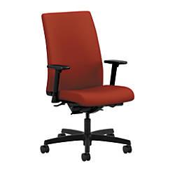 HON Ignition Mid Back Chair PoppyBlack
