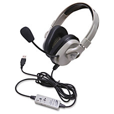 Califone Washable Headphone W USB In