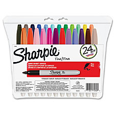 Sharpie Fine Point Permanent Marker Set