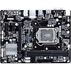Gigabyte Ultra Durable GA H81M H