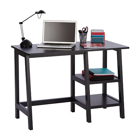 brenton studio donovan student desk black by office depot officemax