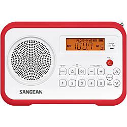 Sangean PR D18 Desktop Clock Radio