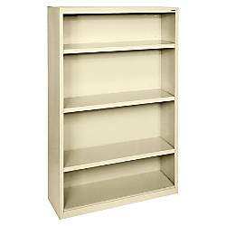 Lorell Fortress Series Bookcase 4 Shelves