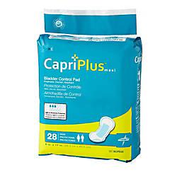 Capri Plus Bladder Control Pad Incontinent